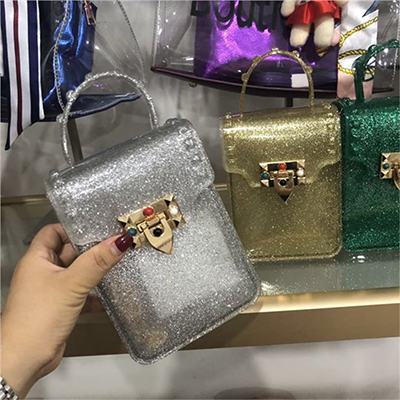 New Arrival Ladys Crossbody Hand Bags Women Branded Clear Jelly Purses And Designer Handbags 2020