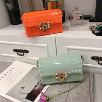 2020 New Arrivals Waterproof Jelly Purse Ladies Famous Brands Crossbody Hand Bags Designer Handbags for Women