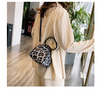 Hot sale leopard snake skin purse triangle sling bags designer handbags famous brand purses 2020 handbags for women hand bags