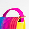 Add to CompareShare High quality trendy colorful jelly quilted crossbody bag shoulder hand bags 2019 women lady handbags